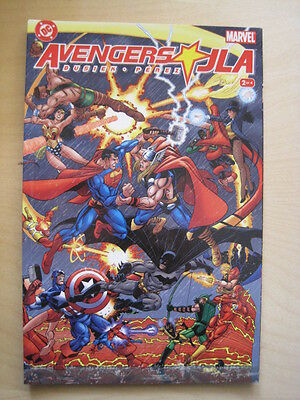 AVENGERS / JLA  # 2 (of 4). SQUARE BOUND GRAPHIC NOVEL by BUSIEK & PEREZ.DC 2003