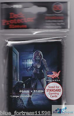 Ultra Pro 50 Dead Wake *barb* Zombie Deck Protector Card Sleeves Mtg