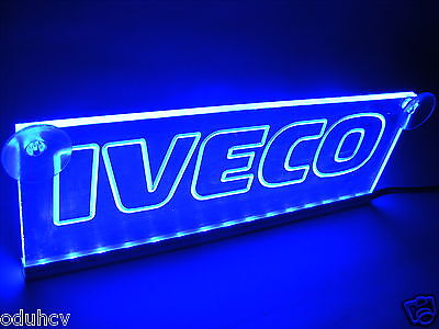 12V LED Cabin Interior Light Plate for IVECO Truck Neon Illuminating Table Sign
