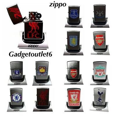 Official Merchandise Stainless Steel Football Club Zippo Lighters Gifts