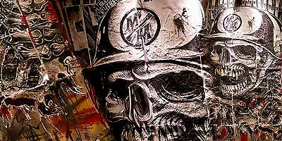 METAL MULISHA BANNER #17,  Flag Sign Motocross Dirtbike Moto Wall Art