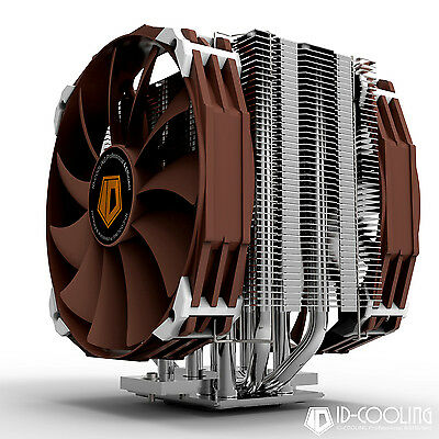 CPU COOLER KING VAPOR CHAMBER +8 Heatpipe(Φ8) TDP 300W For Intel / AMD 2013 New