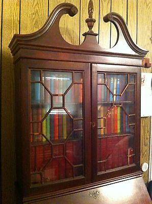 Antique King George III Secretary & Bookcase - Reduced from 8,100 to 4900