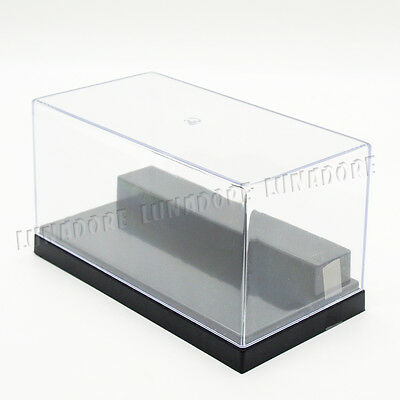 "UV Acrylic/Plastic Display Box Case Dustproof Protection 2 Stpes 5.9""L Small"