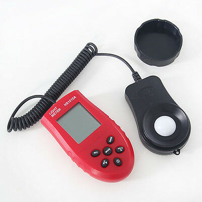Display1-200,000LUX Digital Light Meter Luminance Meter Luxmeter Photometer Lcd