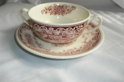 Maastricht Cambridge Old England  Royal Sphinx Soup Bowl