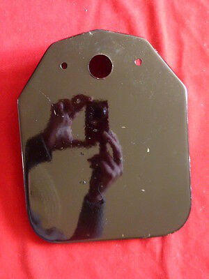 support plaque immatriculation moto royal enfield n°9