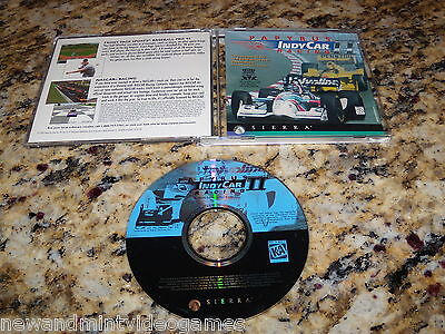 PAPYRUS INDY CAR RACING PC GAME WINDOWS COMPUTER CD-ROM ( NEAR MINT CONDITION )