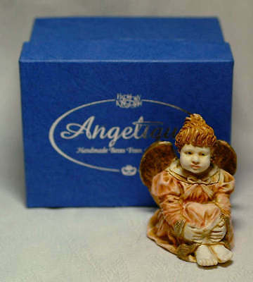 Harmony Kingdom Rare Painted Angel Ingenue Signed