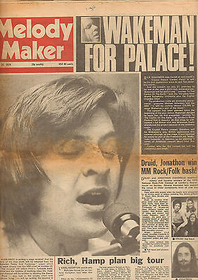 Melody Maker 1974 June 22 - David Bowie/peter Grant/alan Price/mike Oldfield