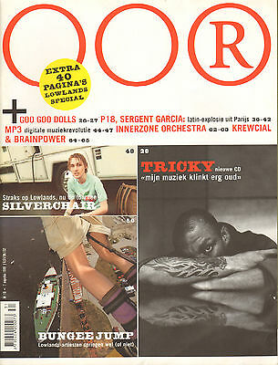 MAGAZINE OOR 1999 nr. 16  - LOWLANDS SPECIAL / SILVERCHAIR / TRICKY / BRAINPOWER