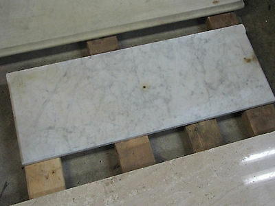 White Marble Rectangle Piece With Grey Lines 6089