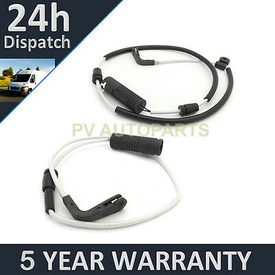 2X For Bmw 5 Series 518 520 523 525 530 M5 E39 95-99 Front Rear Brake Pad Sensor