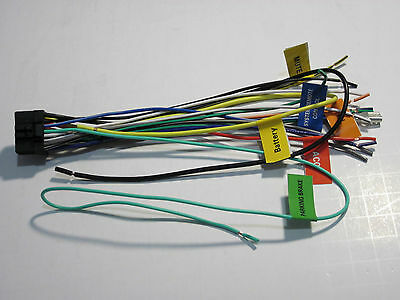 pioneer wire wiring harness deh p7000 p8250 p6000 pr7