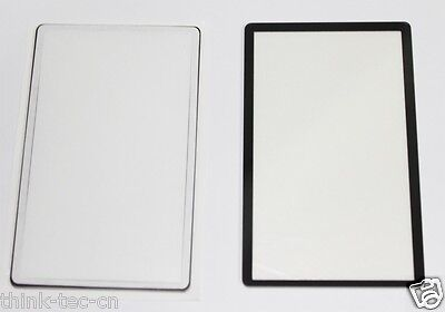 New Canon EOS 6D Outer LCD Screen Display Window Glass Protector Replacement