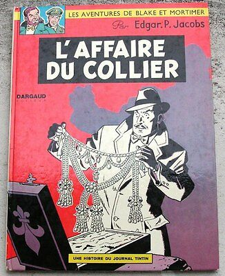 Blake et Mortimer L'affaire du Collier 9b 1972 TBE Jacobs