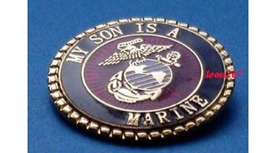 My Son Is A Marine Lapel Pin