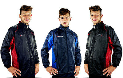 Legea K Way Kway Giacca A Vento Rain Jacket Calcio Calcetto Running K203
