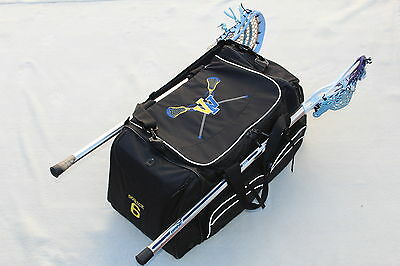 Personalized Lacrosse Equipment Bag Free Custom Embroidery