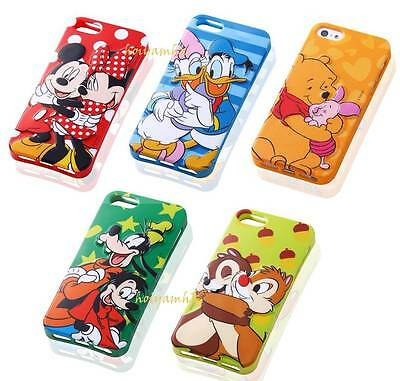New 3D Disney Cartoon Character TPU Soft Full Back Case For iPhone 4/4S/5/5S