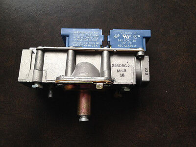 Johnson Controls Redundant Gas Valve G53Dbg-2 Brand New