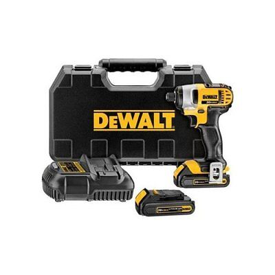 DEWALT DCF885C2R 20V Compact 1/4-in Impact Driver Kit Reconditioned DCF885C2