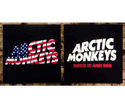 ARCTIC MONKEYS Suck It And See Ltd Ed RARE Stickers Lot +FREE Indie Stickers! AM
