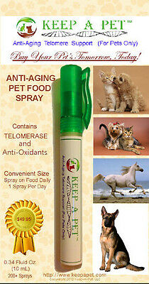 Keep-A-Pet™ Telomere Lengthening and Anti-Oxidant Support