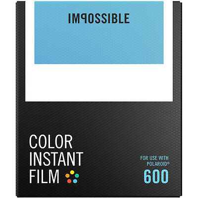 Impossible PRD4514 Color Instant Film for Polaroid 600 Type Cameras