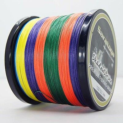 8Strands1000M Multi-Color Super Strong Dyneema Saratoga Braided Sea Fishing Line