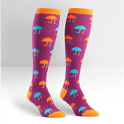 Sock It To Me Women's Knee High Socks - Umbrella