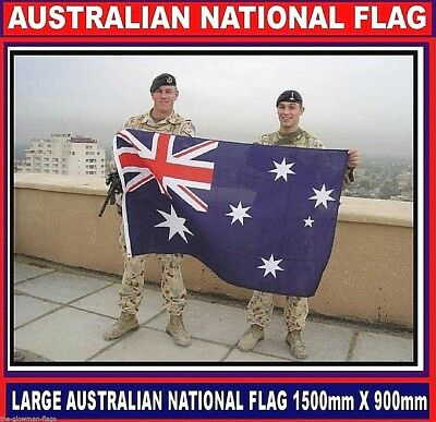 Australian flag Aussie Australia flag includes AUSTRALIA POST TRACKING
