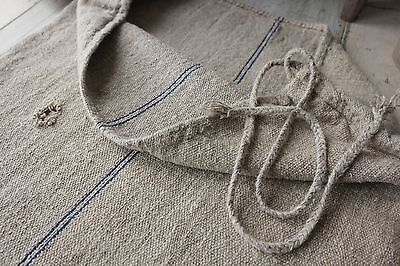 GRAIN SACK vintage grainsack linen European feed bag feesack 22 WIDE ~ old GREY