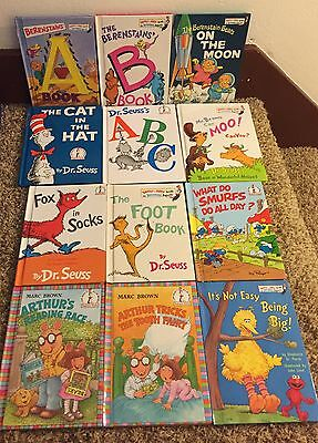 """PICK YOUR TITLES!!! DR. SEUSS & Friends Books - Cat In The Hat And More 8.75""""x6"""""""