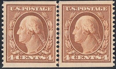 #354 Vf+ Og Nh Guide Line Pair Cv $3,000.00 Wl4985
