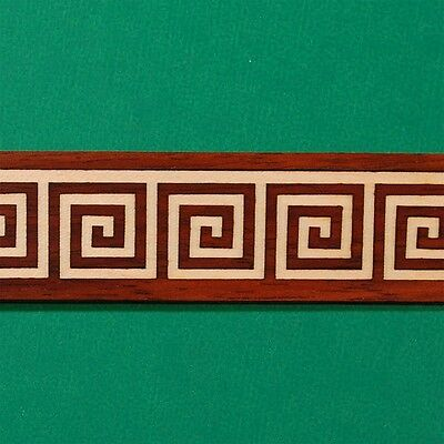 "One Small Greek-Key Inlay Banding 7/8"" x 24"" --- 1/16"" Thick"