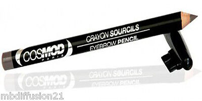Crayon A Sourcils Taupe  (Hypoallergenique) Avec Sa Brosse//n°3//make.upcosmod