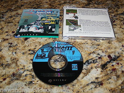 INDY CAR RACING PC GAME WINDOWS COMPUTER CD-ROM ( MINT CONDITION ) FAST LOW SHIP