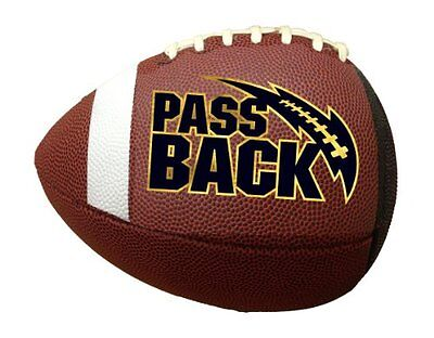 NEW Passback Football - Junior Size (13 and Under) Composite