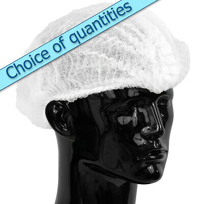 Clip Mop Mob Caps - Quality White Hair Covers - Discounted Qty Deals