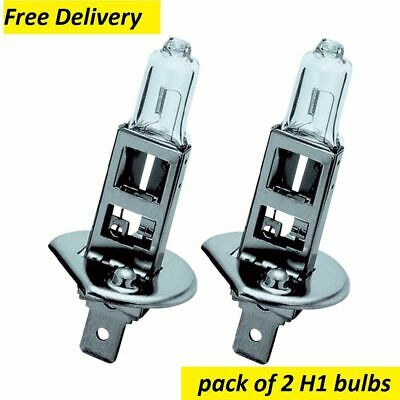 2 x H1 HALOGEN HEADLAMP BULB 448 12V 55W P14.5s 10mm uk seller