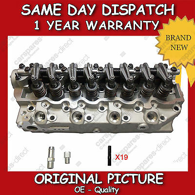 Complete Cylinder Head Fit For A Hyundai Galloper,terracan,h-1 2.5Td 98>06 Flush