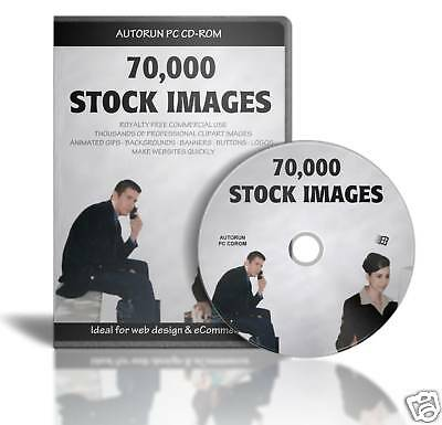 70,000 MEGAPACK STOCK IMAGES on CD CLIPART PHOTOS SALES