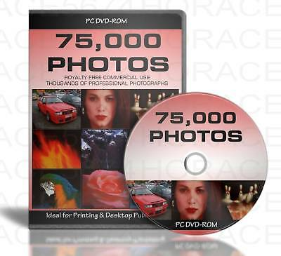 75,000 ROYALTY FREE PHOTOS onDVD CLIPART IMAGE MEGAPACK