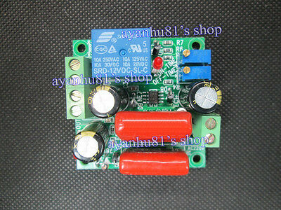 110V AC Cycle Time Timer Switch Delay Relay ON OFF Repeat 1-20seconds adjustable