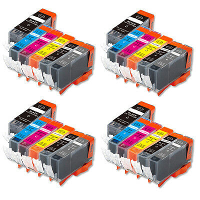 24 Pk Value Ink Set + chip for PGI-225 CLI-226 with Grey Canon MG6120 MG6220