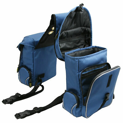 trailMAX 500 Back Saddle Pockets, Satteltasche Western Packtasche blue