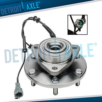 New FRONT Driver or Passenger Wheel Hub and Bearing - w/ ABS