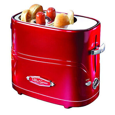 Nostalgia Electrics HDT-600 Hot Dog Hotdog Pop-up Toaster Cooker Machine