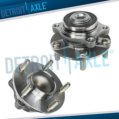 (2) Brand NEW Front Wheel Hub and Bearing Assemblies w/ ABS fits 350Z G35